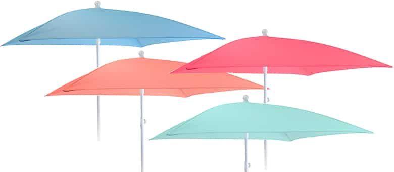 H&S Sonnenschirm (180x180cm) in vielen Farben für je 14,13€ (statt 27€)