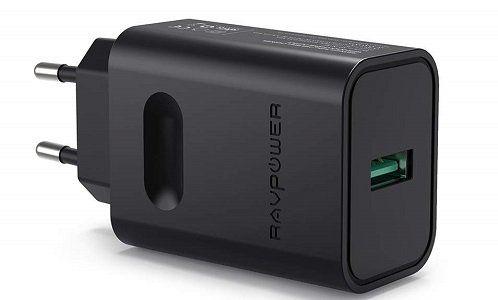 RAVPower RP PC007 Ladegerät mit Quick Charge 3.0 für 7,99€ (statt 12€)