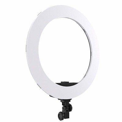 Andoer HD 18S dimmbare LED Ringleuchte für Kameras für 41,19€ (statt 82€)
