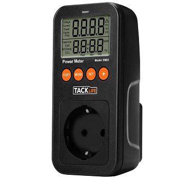Tacklife EM03 Energieverbrauch Messgerät für 3,99€ (statt 14€)