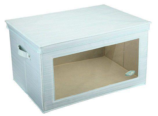 meelife Aufbewahrungsbox (Größe L) mit Fenster für 11,99€ (statt 24€)