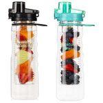 2er Pack: Trinkflasche (750ml) mit Früchteeinsatz für 13,79€ (statt 23€) – Prime