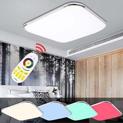 30% Rabatt auf RGB LED Deckenleuchten von Hengda mit Fernbedienung ab 23,09€