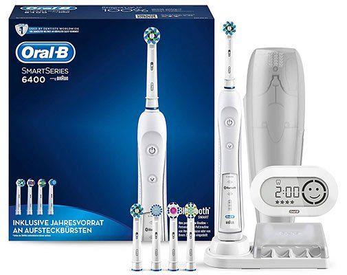 Oral B 6400 Smart Series Zahnbürste ab 58,99€ (statt 91€)