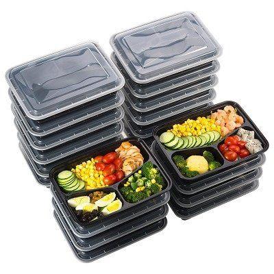 20 Lunchboxen für Meal Prep für 13,99€ (statt 19€)