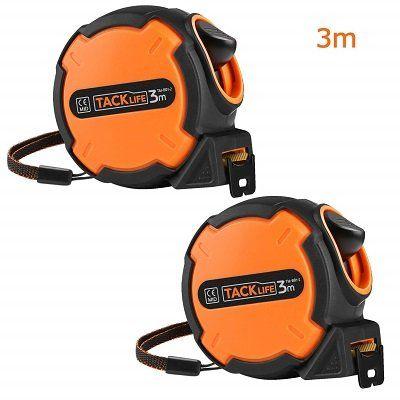 Tacklife TM B01 2 Doppelpack   Maßband mit Feststeller für 3,99€ (statt 8€)