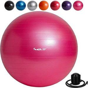 MOVIT Gymnastikball inkl. Pumpe (55cm 65cm 75cm 85cm) in 7 Farben ab 5,99€ (statt 13€)
