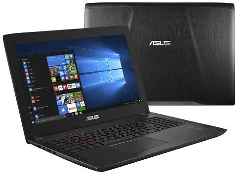 ASUS FX502VM FY249T Gaming Notebook mit 512GB SSD und GTX1060 für 988€ (statt 1.111€)