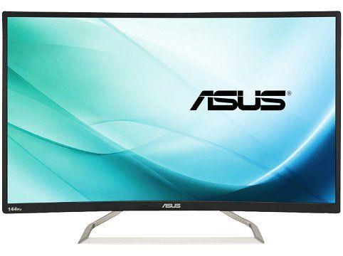 ASUS VA326H 31.5 Zoll Curved FullHD Monitor mit 4ms Reaktionszeit für 355€ (statt 424€)