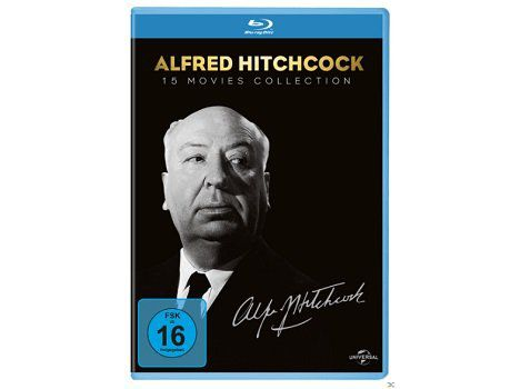 Alfred Hitchcock Collection auf Blu ray ab 34€ (statt 40€)
