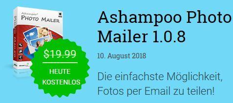 Ashampoo Photo Mailer (Vollversion, Windows) gratis