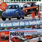 Auto Bild klassik – Jahresabo für 57,60€ + 50€ BC Gutschein TOP!