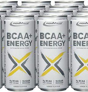 Vorbei! IronMaxx BCAA Energy Drinks   24 Dosen für 9,66€ mit Prime