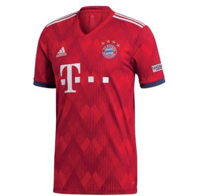 adidas FC Bayern München Herren Heimtrikot 18/19 für 49,95€ (statt 58€)   nur XL, L & S