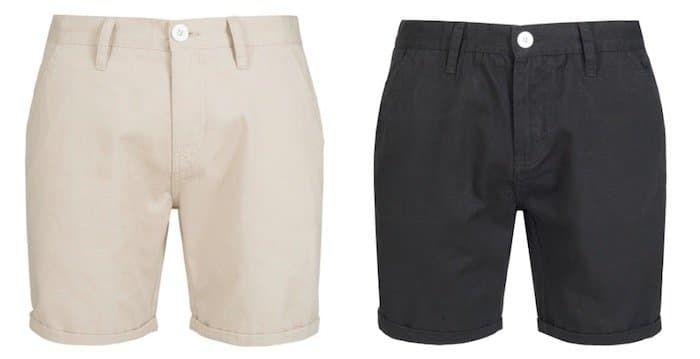 BRAVE SOUL Smith Herren Chino Shorts für 8,88€ zzgl. Versand (statt 17€)