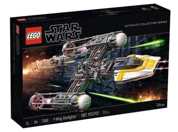 Lego Star Wars 75181 Y Wing Starfighter für 159,99€ (statt 200€)