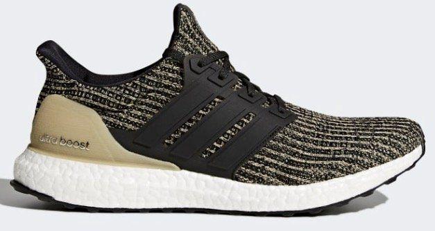 adidas Ultra Boost Sneaker in Schwarz/Gold für 85,47€ (statt 105€)   nur 39, 42, 43