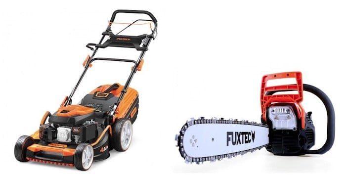 Fuxtec: 20% auf ausgewählte Gartengeräte bis Mitternacht   z.B. Benzin Rasenmäher FX RM5396P für 327,20€ (statt 399€)