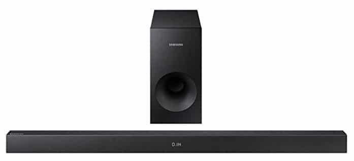 Samsung HW K335 Soundbar mit Subwoofer für 89,90€(statt 106€)