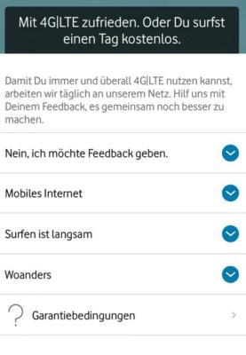 Tipp: Vodafone GigaGarantie: 90 GB Datenvolumen für 24h geschenkt
