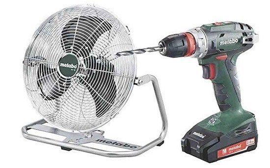 Metabo BS 18 Quick 18V Akku Bohrschrauber + Akku Ventilator AV 18 für 184,95€ (statt 228€)