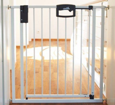 Geuther Easylock Türschutzgitter 80,5   88,5cm für 54,99€(statt 71€)