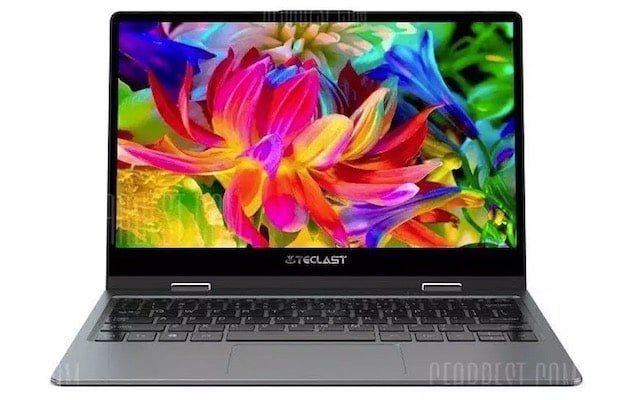 Teclast F5   11,6 Zoll Full HD Notebook mit 360 Grad Display für 291,72€