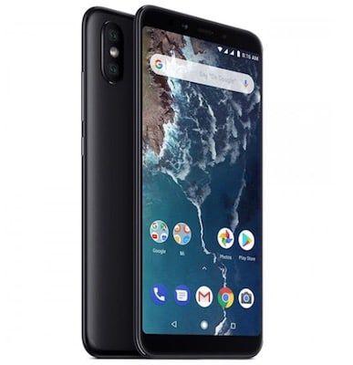 Xiaomi Mi A2 mit 64GB in Schwarz oder Rosa für je 134,99 (statt 145€)