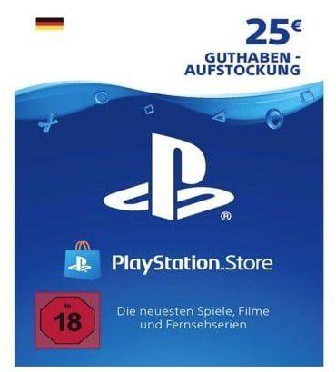 25€ Sony PSN Guthaben für 19,85€