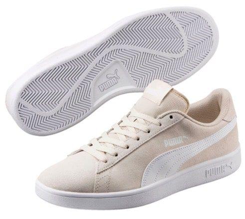 Puma Smash v2 Unisex Sneaker in Beige für 22€(statt 40€)