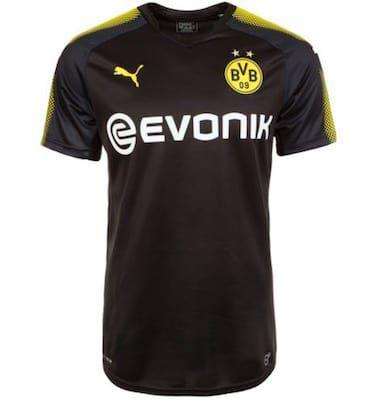 Borussia Dortmund Trikot Away 2017/2018 für 22,95€(statt 30€)