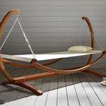 """Garten-Relaxliege """"Sydney"""" mit Holzgestell für nur 74,25€ (statt 99€)"""