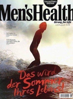 Vorbei! 1 Jahr Mens Health gratis (!) + einmalig nur 5,95€ VSK (statt 60€)