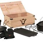BBQ-Toro Dutch Oven Set in Holzkiste für 64,95€ (statt 90€)