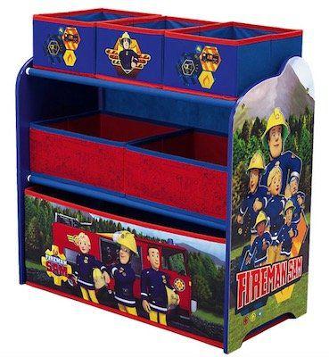 Schnell? 2er Pack Feuerwehrmann Sam Regale mit je 6 Boxen für 18,93€ (statt 60€)