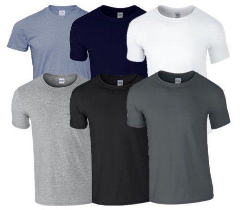 8er Pack Gildan T Shirts für 21,99€   16er Pack nur 35,51€