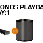Sonos Playbar WLAN-Soundbar für 699€ + gratis Sonos Play:1 (Wert 172€)