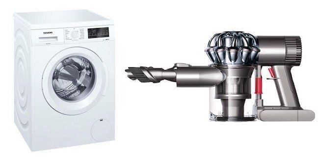 Siemens WU14Q420 iQ500 8kg Waschmaschine + Dyson v6 Trigger Handstaubsauger für 539,98€ (statt 695€)