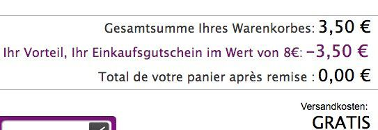 Gratis Heimtextilien bei Linvosges (Handtücher etc.) dank 8€ Rabatt + VSK frei