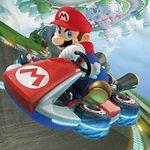 Wende Kinderbettwäsche Mario Kart 135 x 200 cm für 24,94€ (statt 30€)