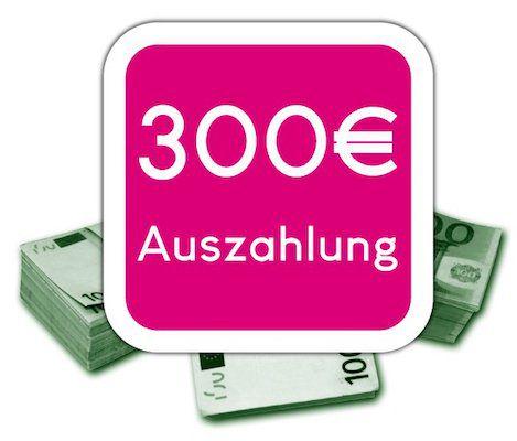 Telekom Allnet Flat von Congstar mit 10GB für 25€mtl. + 300€ Auszahlung + 1 Monat Highspeed gratis