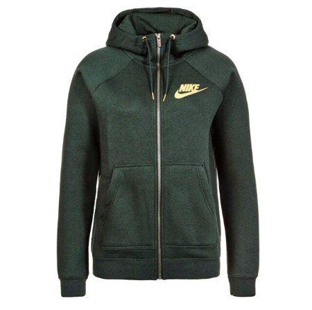 Beendet! Nike Damen Hoodie RALLY FZ METALLIC für 22,49€ (statt 70€)