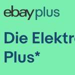 Gratis Elektro-Garantie für eBay Plus Mitglieder – auch, wenn es nicht bei eBay gekauft wurde
