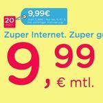 eazy Internet-Zugang (Unitymedia) mit 20 Mbit/s für 9,99€ mtl. – oder 50 Mbit/s für 16,99€ mtl.