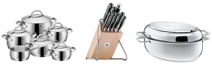 WMF & Silit Sale bei eBay + 10% Rabatt ab 3 Produkten