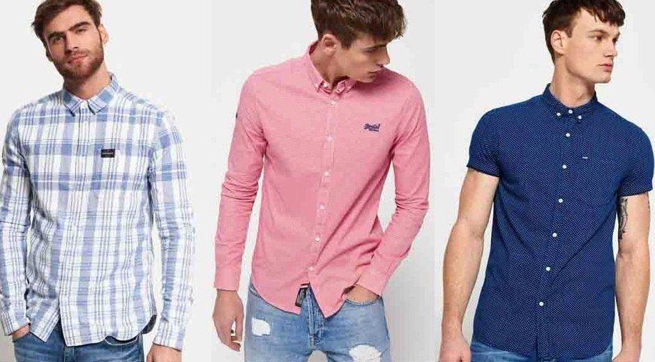 Herren Superdry Hemden für je 27,95€