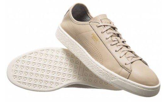 Puma Basket Classic Soft Leder Sneaker in Restgrößen für 15