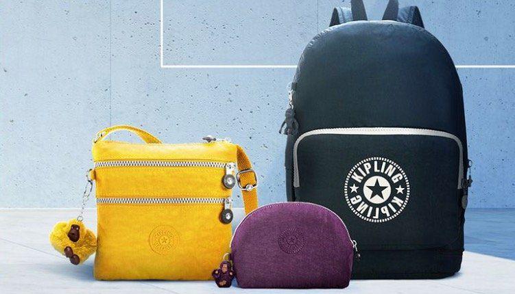 Kipling Sale mit bis zu 55% Rabatt   z.B. Rucksack Fundamental NC in Gelb für 34,99€ (statt 75€)