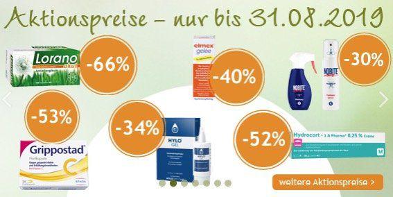 Aliva Apotheke + keine Versandkosten + 10€ Gutschein ab 100€