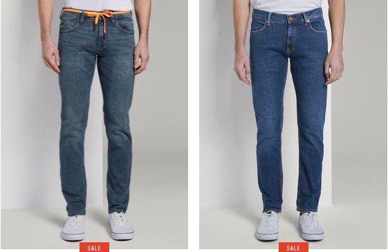 Tom Tailor mit 20% Rabatt auf alle Jeans + nur 0,97€ VSK